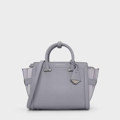 トップハンドルシティバッグ / TOP HANDLE CITY BAG (Lilac Grey)