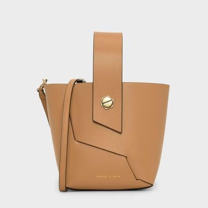 リスレットハンドルバケツバッグ / WRISTLET HANDLE BUCKET BAG (Mustard)