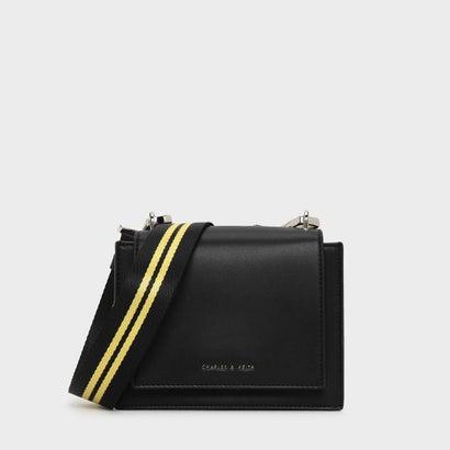 ナイロンストラップクロスボディバッグ / NYLON STRAP CROSSBODY BAG (Black)