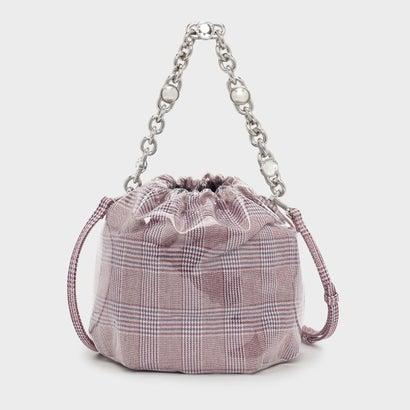 チェーンハンドル バケツバッグ / CHAIN HANDLE BUCKET BAG (Red)