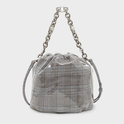 チェーンハンドルバケツバッグ / CHAIN HANDLE BUCKET BAG (Olive)