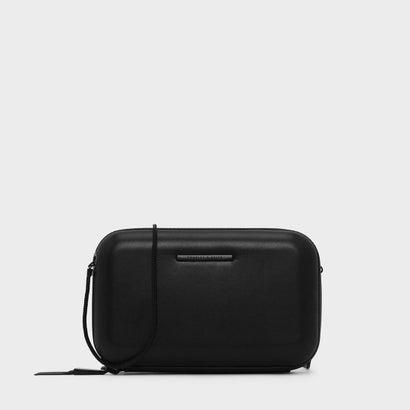 タッセルディテールボクシィクラッチ / TASSEL DETAIL BOXY CLUTCH (Black)