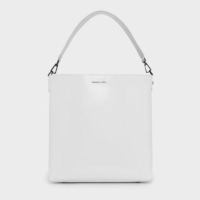 トップハンドルバッグ / TOP HANDLE BAG (White)