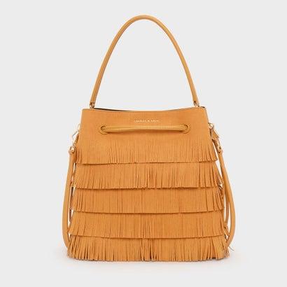 クラシックバックルドローストリングバッグ / CLASSIC BUCKET DRAWSTRING BAG (Mustard)