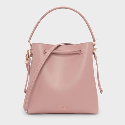 クラシックバックルドローストリングバッグ / CLASSIC BUCKET DRAWSTRING BAG (Blush)