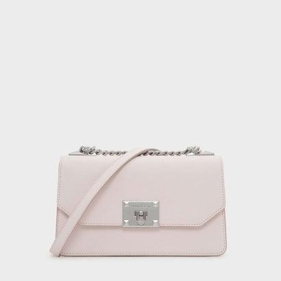 クラシック フロントフラップ クロスボディバッグ / CLASSIC FRONT FLAP CROSSBODY BAG (Light Pink)