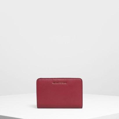 クラシックジップドウォレット / Classic Zipped Wallet (Maroon)
