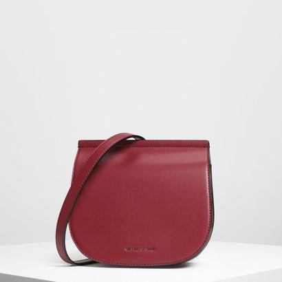 フロントフラップサドルバッグ / Front Flap Saddle Bag (Maroon)