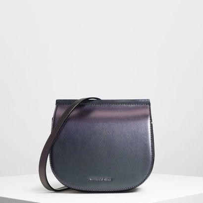 フロントフラップサドルバッグ / Front Flap Saddle Bag (Peacock)