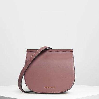 フロントフラップ サドルバッグ / Front Flap Saddle Bag (Mauve)