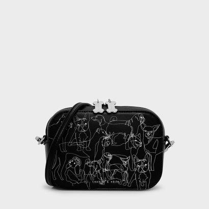 ペット コレクション ハンドバッグ / Pet Cosection Hand Bag (Black)