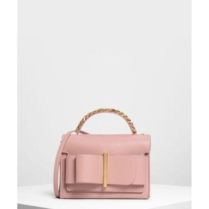 ボウディテール ハンドバッグ / Bow Detail Handbag (Blush)