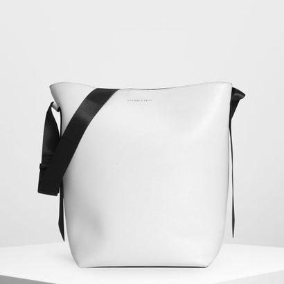ナイロンストラップ トートバッグ / Nylon Strap Tote Bag (White)