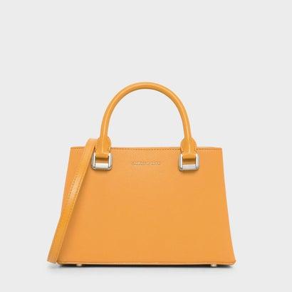 クラシック トップハンドル ハンドバッグ / Classic Top Handle Handbag (Mustard)