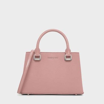 クラシック トップハンドル ハンドバッグ / Classic Top Handle Handbag (Blush)