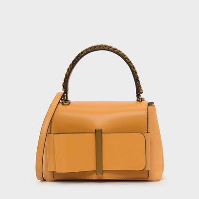 ボウディテールハンドバッグ / Bow Detail Handbag (Mustard)