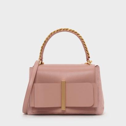 ボウディテールハンドバッグ / Bow Detail Handbag (Blush)