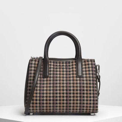 クラシックトップハンドルバッグ / Classic Top Handle Bag (Brown)