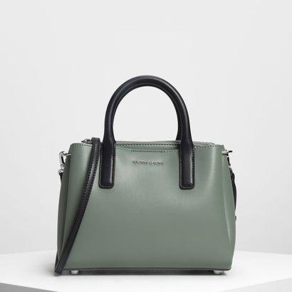 クラシックトップハンドルバッグ / Classic Top Handle Bag (Green)