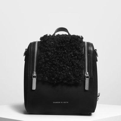 ジッパーディテールバックパック / Zipper Detail Backpack (Black)