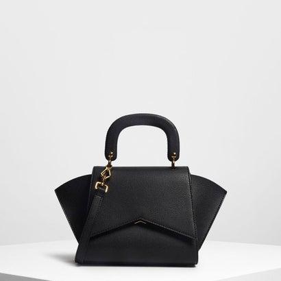 ジオメトリック ストラクチャーシティバッグ / Geometric Structured City Bag (Black)
