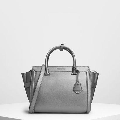 クラシック ストラクチャーシティバッグ / Classic Structured City Bag (Pewter)