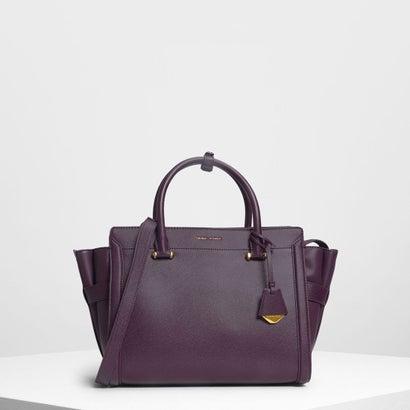 クラシック ストラクチャーシティバッグ / Classic Structured City Bag (Purple)