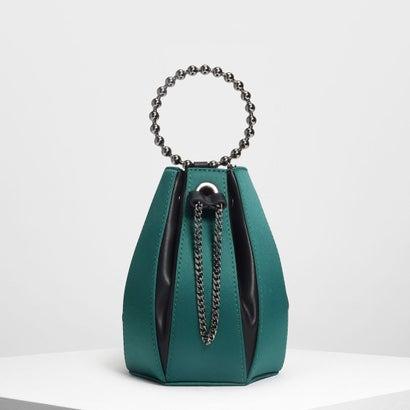 サーキュラーハンドル バケツバッグ / Circular Handle Bucket Bag (Green)