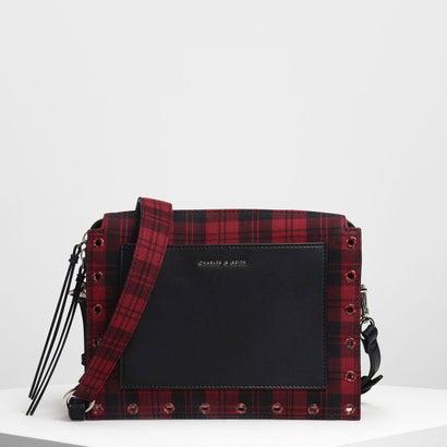 エンベリッシュ クロスボディバッグ / Embellished Crossbody Bag (Black)