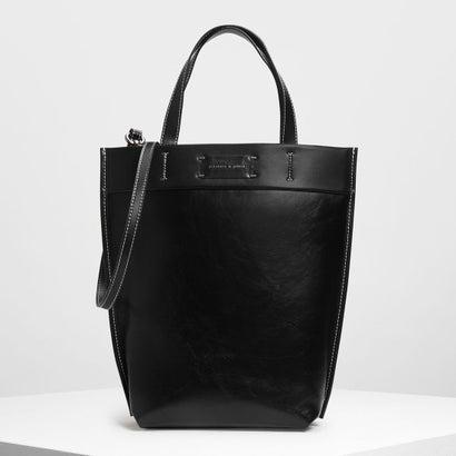 クラシック ストラクチャートートバッグ / Classic Structured Tote Bag (Black)