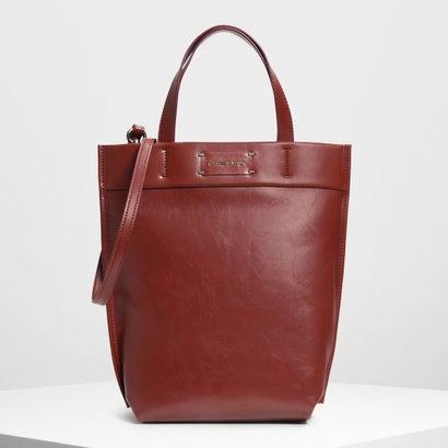 クラシック ストラクチャートートバッグ / Classic Structured Tote Bag (Red)