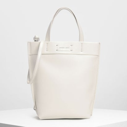 クラシック ストラクチャートートバッグ / Classic Structured Tote Bag (Cream)