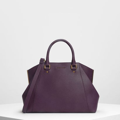 ストラクチャー シティバッグ / Structured City Bag (Purple)