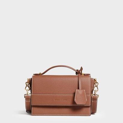 ストラクチャー トップハンドルバッグ / Structured Top Handle Bag (Cognac)