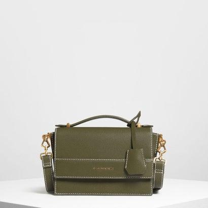 ストラクチャー トップハンドルバッグ / Structured Top Handle Bag (Olive)