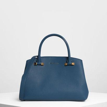 クラシック トップハンドルバッグ / Classic Top Handle Bag (Blue)