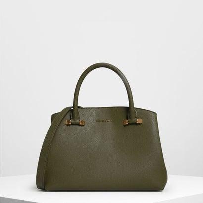 クラシック トップハンドルバッグ / Classic Top Handle Bag (Olive)