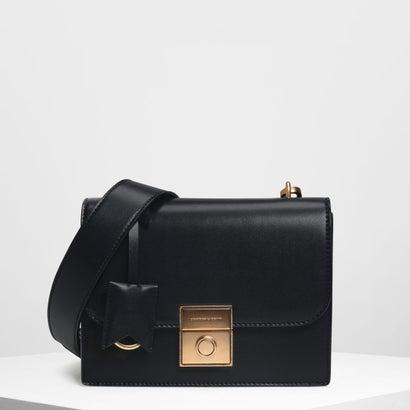 ストラクチャード クロスボディバッグ / Structured Crossbody Bag (Black)