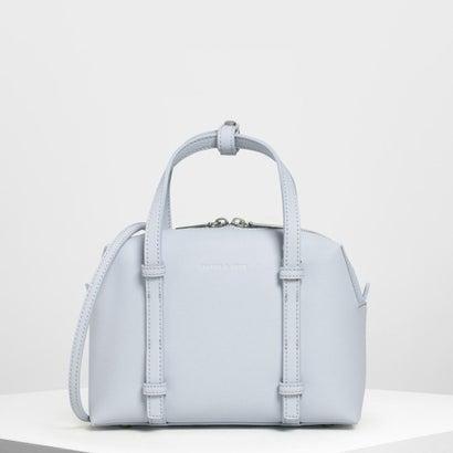 ショートボーリング トップハンドルバッグ / Short Bowling Top Handle Bag (Light Blue)