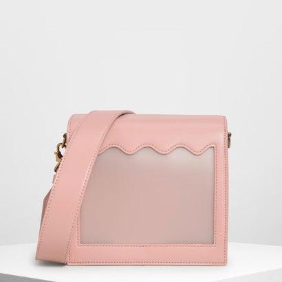 ウィンドウ クロスボディバッグ / Window Crossbody Bag (Pink)