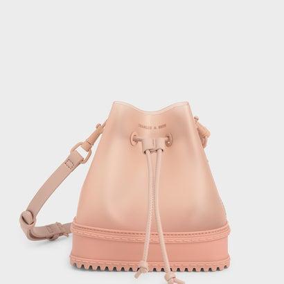 【2021 SPRING 新作】ドロウストリング バケツバッグ / Drawstring Bucket Bag (Light Pink)