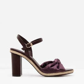 ノットサンダル / KNOTTED SANDALS(Purple)