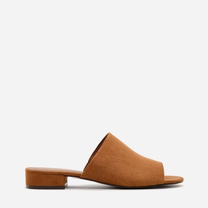 ローヒールミュール / LOW HEEL MULES (Light Brown)