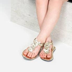 バタフライモチーフ サンダル / Butterfly Motif Sandals (Gold)