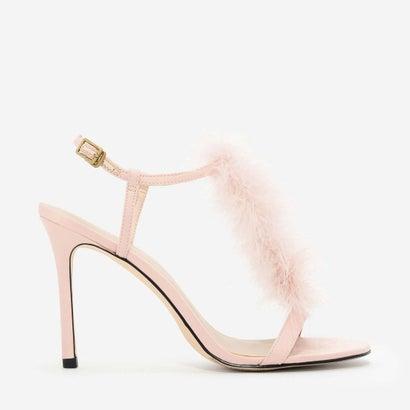 テクスチャードスティレットヒール / TEXTURED STILETTO HEELS (Pink)