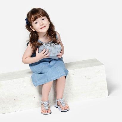 バタフライモチーフ サンダル / Butterfly Motif Sandals (Blue)