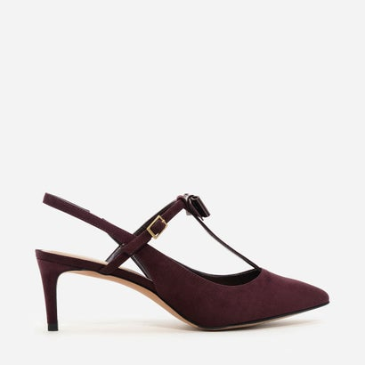 Tバーボウパンプス / T-BAR BOW PUMPS (Burgundy)