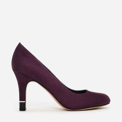 フォウスエードパンプス / FAUX SUEDE PUMPS (Purple)
