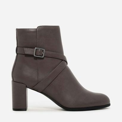 クリスクロス バックル ブーツ / CRISS CROSS BUCKLE BOOTS (Brown)