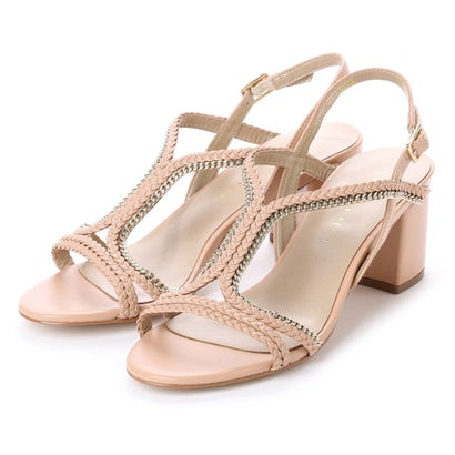 Tバーブレイドサンダル / T-BAR BRAIDED SANDALS (Nude)